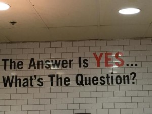 Yes answer